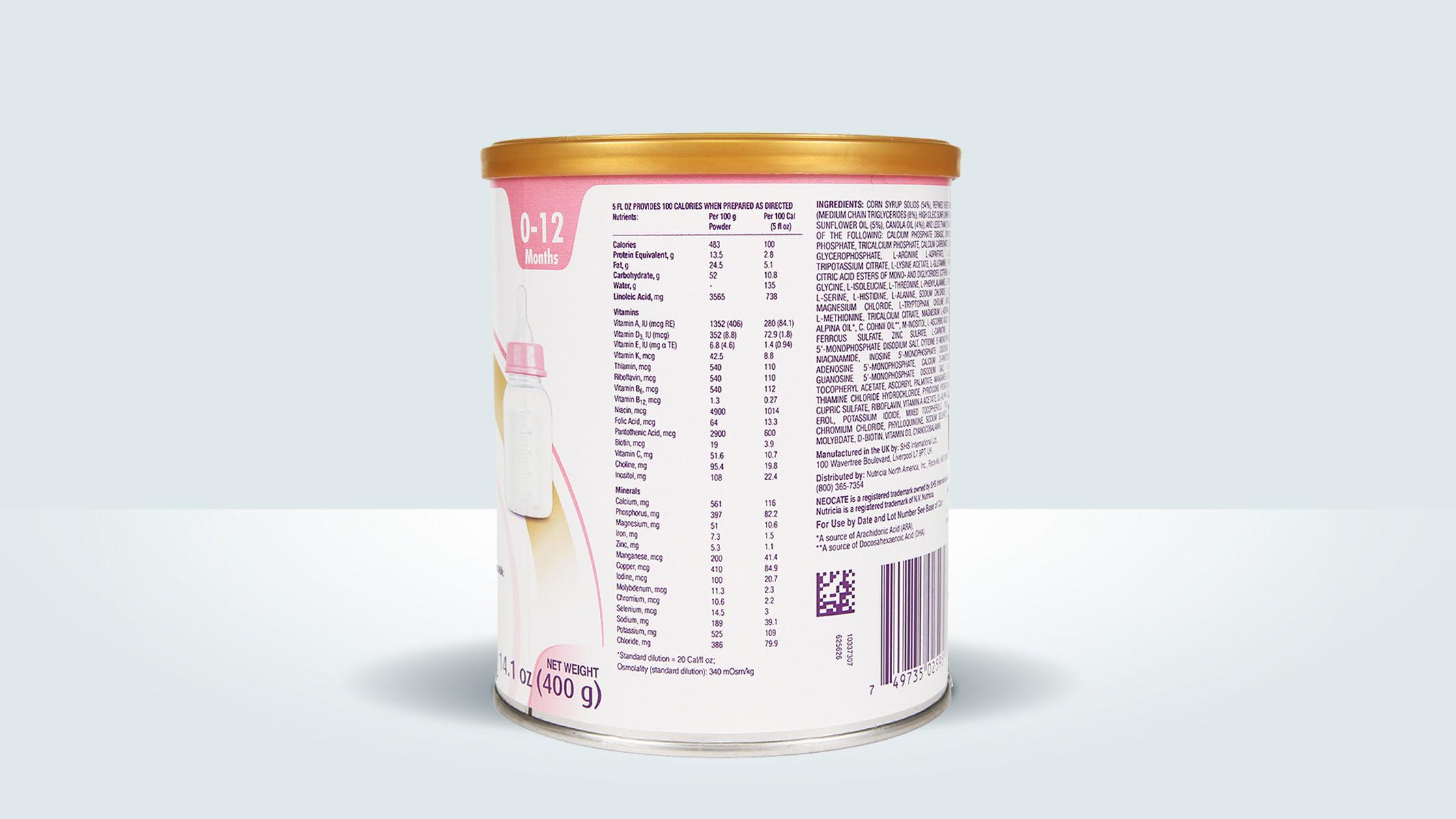 Neocate Infant DHA/ARA | Amino Acid