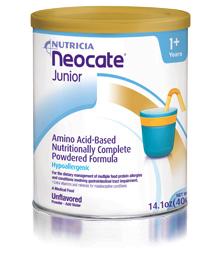 Neocate Junior Vanilla Formula with Prebiotics Case Of 4