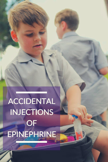 Accidental Injections of Epinephrine | Neocate