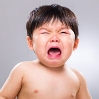 Infant Crying Cow Milk Allergy