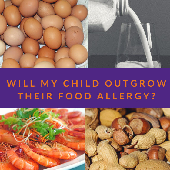 Will My Child Outgrow Cow Milk Allergy?