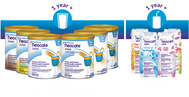 Neocate Products for 1 years old and older