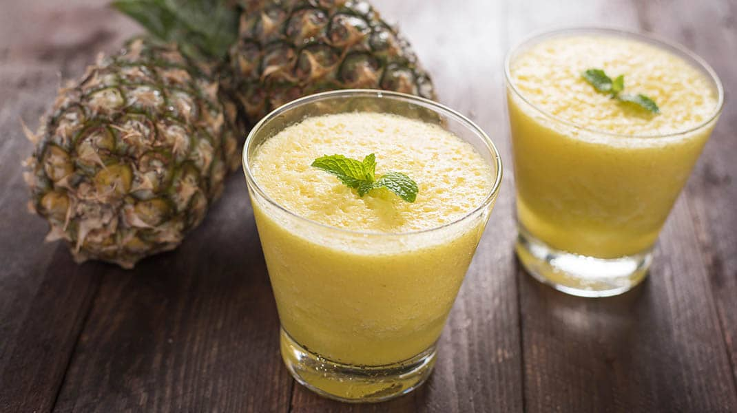Vanilla Orange Pineapple Fruit Blast