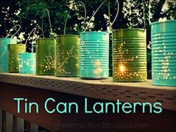 Formula Can Lanterns