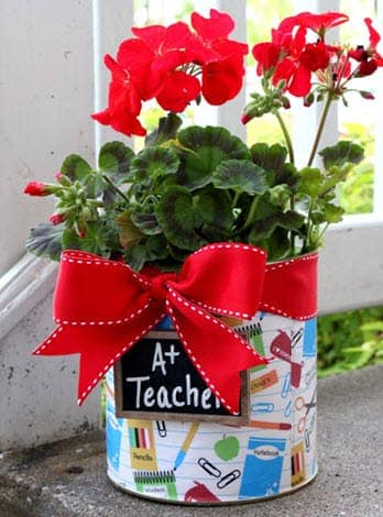 Recycling Neocate Cans: formula can teacher appreciation