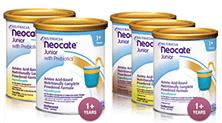 Powdered Neocate Junior opions