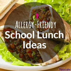 Allergy-Friendly School Lunch Ideas