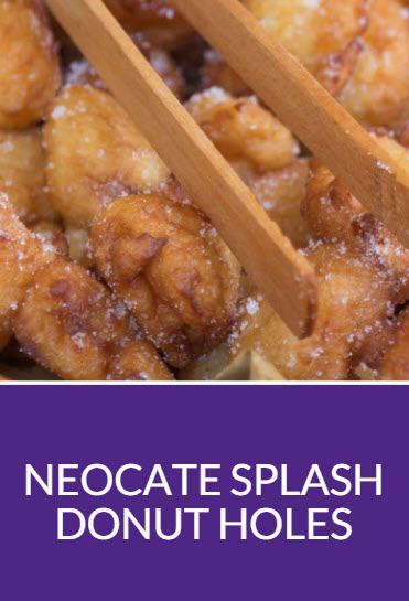 Neocate Splash Donut Holes Recipe
