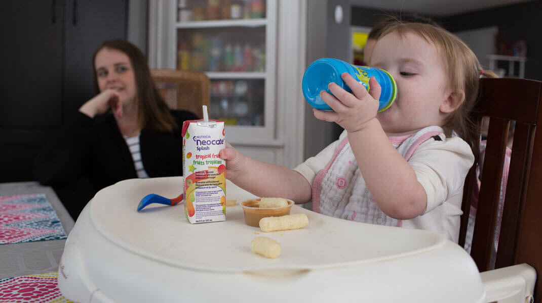 Neocate<sup>&reg;</sup> Splash Helped Kennedy to Like Food Again – A Parent's Perspective