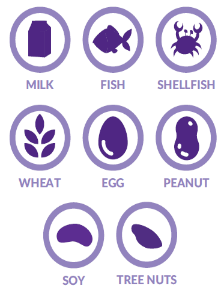 8 common food allergy types