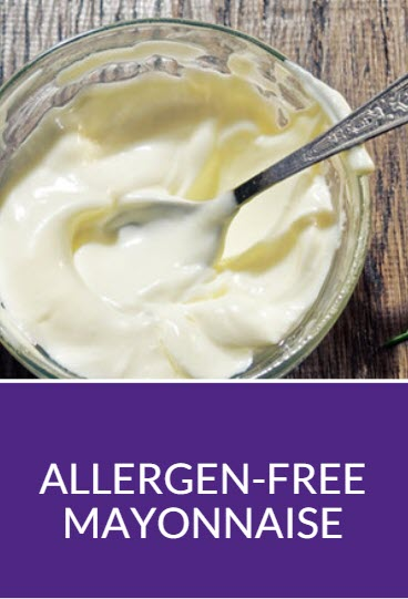 Allergen-Free Mayonnaise Recipe Pinterest
